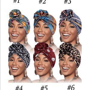 African Print Head Turban / Head Wrap